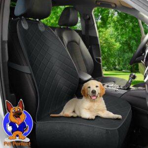 Pet Perfect Autostoel Hond - Hondenstoel Auto - Autozitje & Automand - Hondenmand - Zwart